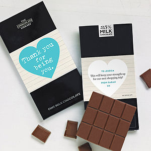Feel Good Chocolate Card - card alternatives