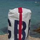 Sailors Gbr Sailcloth Wash Bag