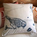 Victorian Bird Cushion