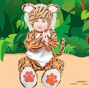 Child's Tiger Costume - baby & child sale