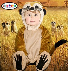 Child's Meerkat Costume - shop by occasion