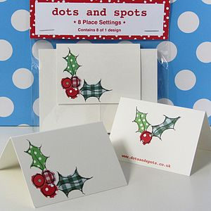 Place Cards - christmas parties & entertaining