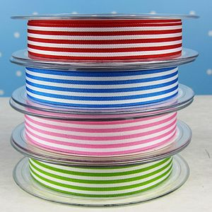 Stripy Ribbon - ribbon & wrap