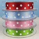 Satin Spotty Polka Dots Ribbon