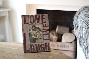 'Love Live Laugh' Frame - picture frames