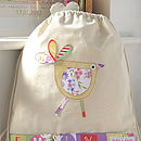 Betsy Bird Bag Design