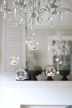 Hanging Bauble Tea Light Holders