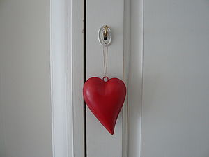 Hanging Heart - wedding favours