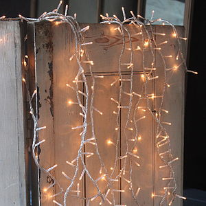 String Of Pin Lights - christmas lights
