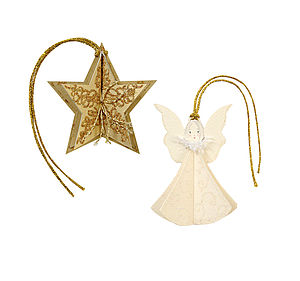 Angel And Star Gift Tags - cards & wrap