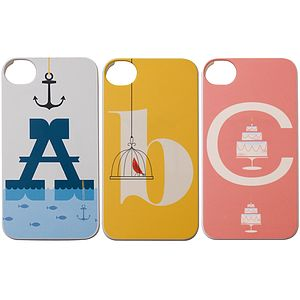 Typographic Cover For iPhone - technology accessories