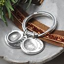 Personalised Fingerprint Charm Keyring