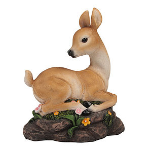 Decorative Bambi Statue - easter decorations