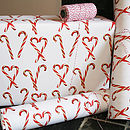 Candy Canes Wrapping Paper