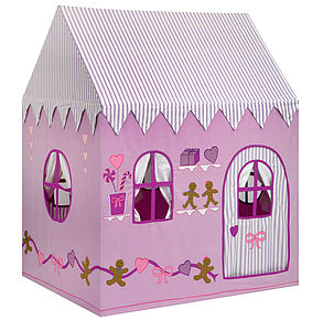 Gingerbread Cottage And Sweet Shop Playhouse - tents, dens & wigwams