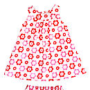 Pop Flower Baby Dress And Frilly Pants Set