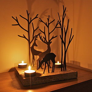 Christmas Reindeer Triple T Light Decoration