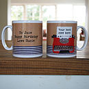 Personalised Type Writer Mug
