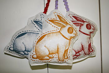 Rabbit Lavender And Hops Bag