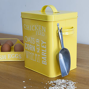 Chicken Feed Tin - home accessories