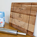 Extra Large Wooden Chopping And Pastry Board