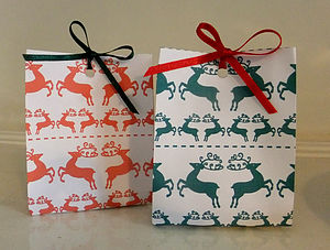 Christmas Table Present Bag