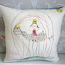 Your Child's Drawing Cushion