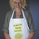 'An Apple A Day' Apron