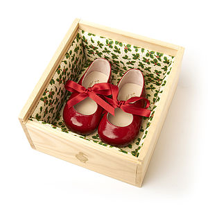 Christmas Baby Girl Shoes - clothing
