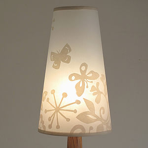Butterfly Print Lampshade