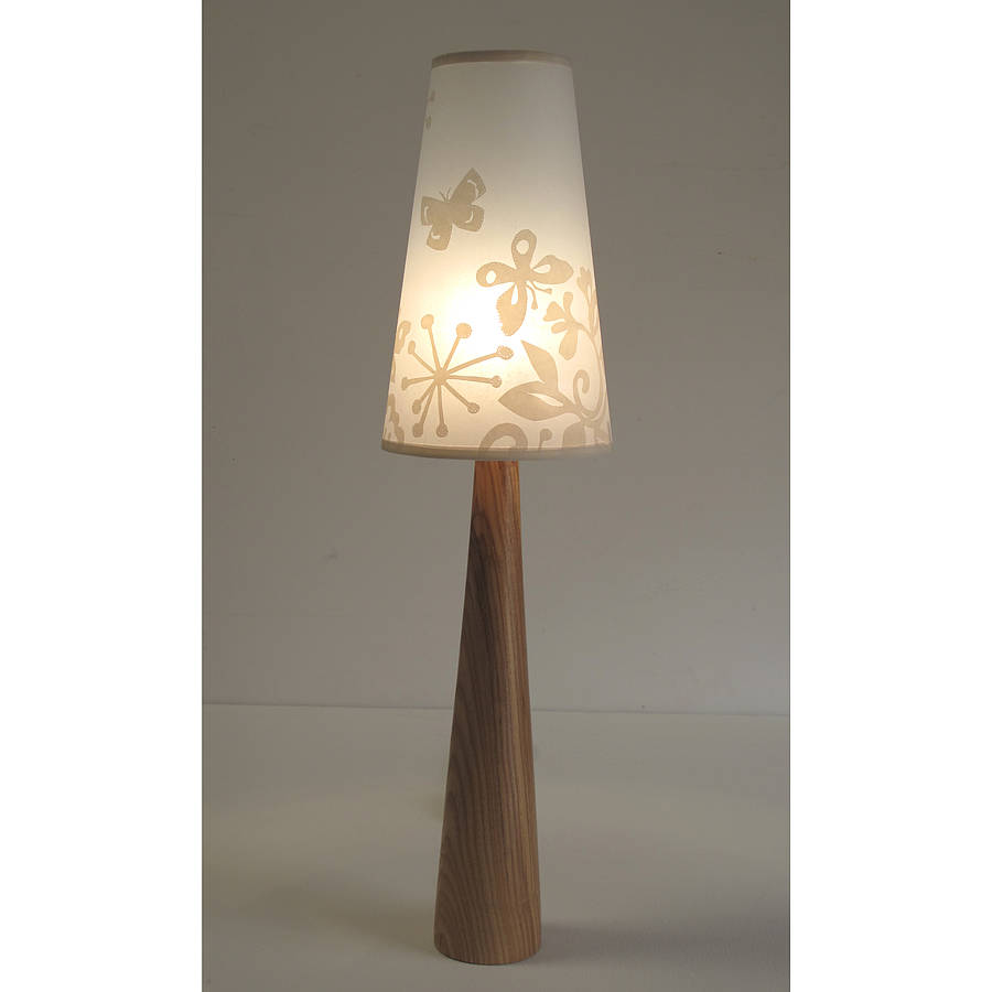Pretty Butterfly Table Lamp By Helen Rawlinson