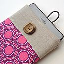 Geometric Print Case for Kindle in Purple and Pink
