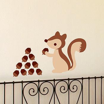 Squirrel Wall Sticker