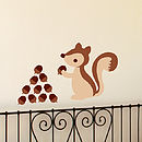 Squirrel Wall Sticker