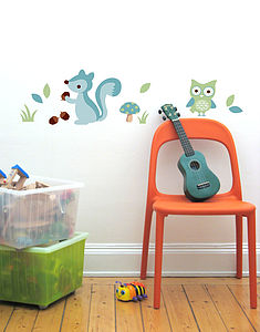 Boyu0027s Forest Wall Stickers Part 48