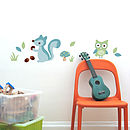 Boy's Forest Wall Stickers