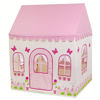 Large Rose Cottage and Tea Shop Playhouse (front)