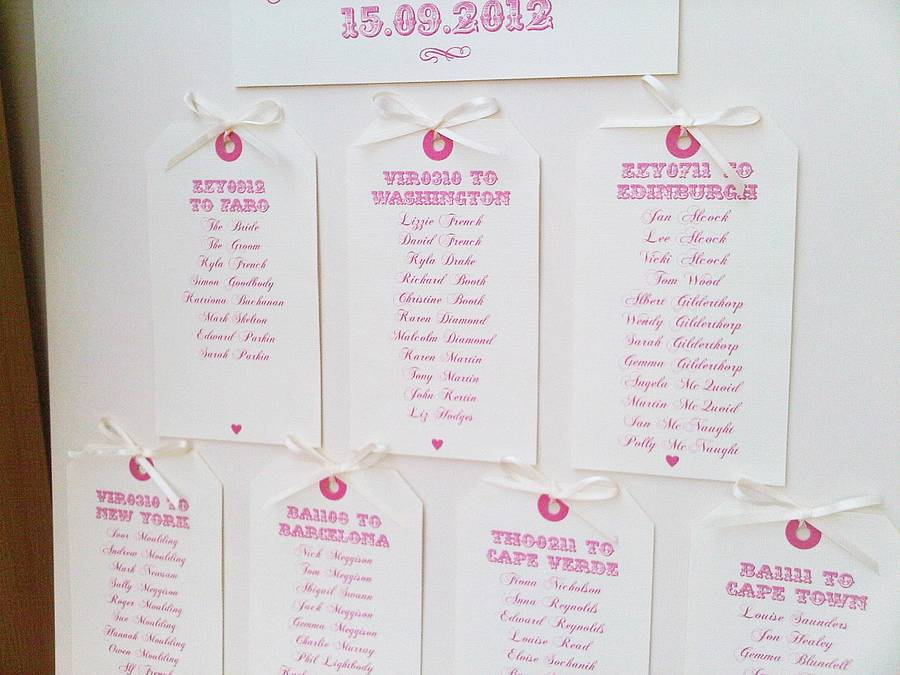 table plans christening
