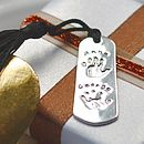 Personalised Handprint Bookmark