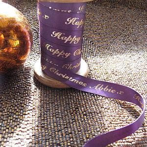 Personalised Satin Ribbon