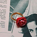 Vintage Inspired Darcy Rose Ring