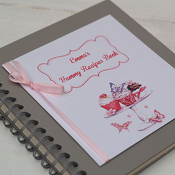 Personalised Cupcakes Recipe Book