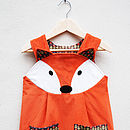 Girl's Fox Play Dress