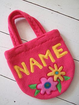 Toddler's Personalised Handbag