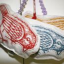 Bird Lavender And Hops Bag