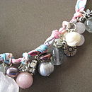 Handmade Vintage Style Pearl Necklace