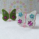 Butterfly Brooch Sewing Kit