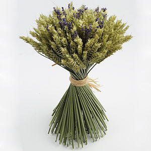 Lavender Wheat Sheaf - trees & flowers