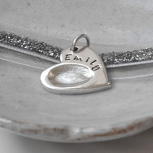 Personalised Fingerprint Charm - women's jewellery