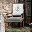 Skull And Crossbones Chair